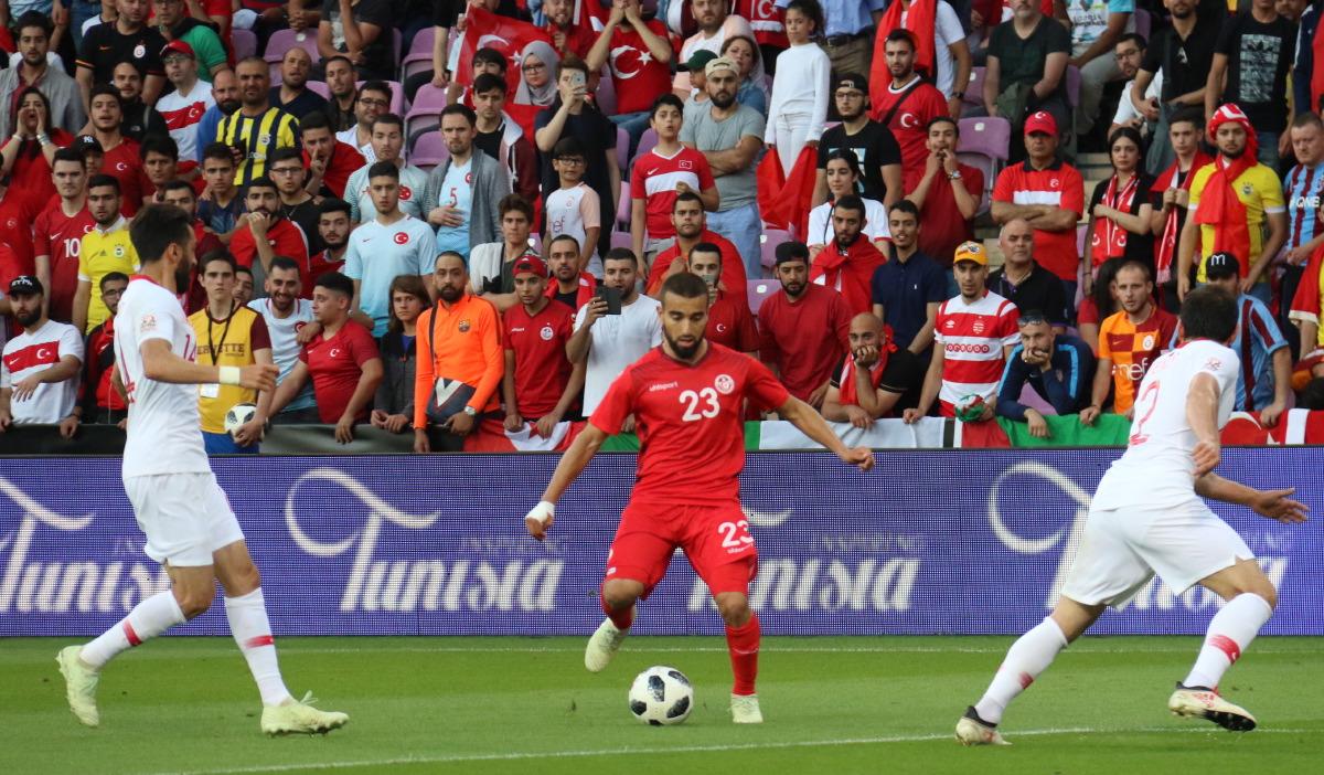 تشكيلة هجوميّة للمنتخب التونسي ضدّ إسبانيا