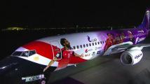 كأس العالم : الطائرة الخاصّة بالمنتخب المصري (فيديو)