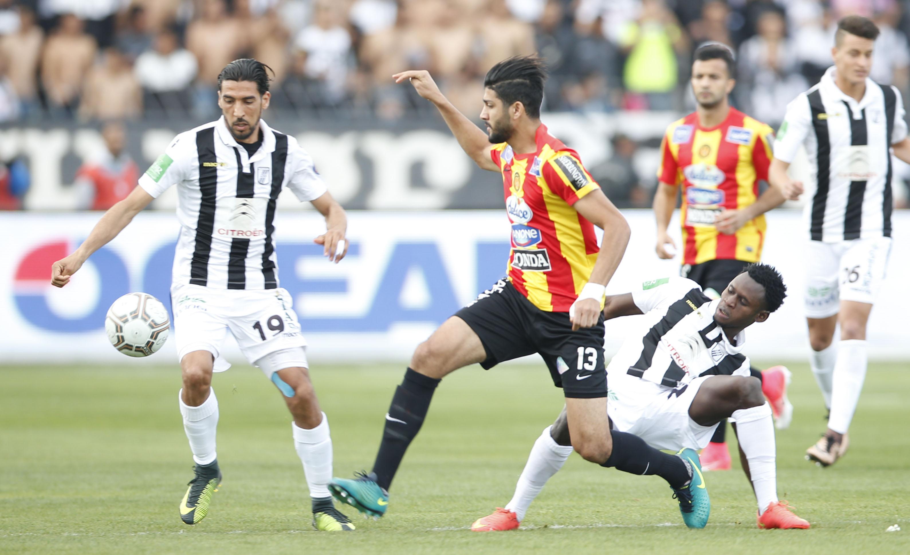 ES Tunis - CS Sfaxien: les formations probables