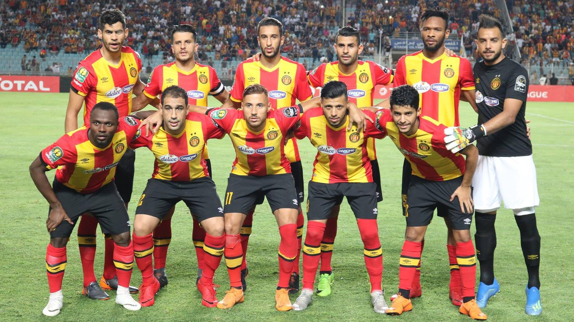 Ligue des Champions: le onze rentrant de l'Espérance face à Kampala