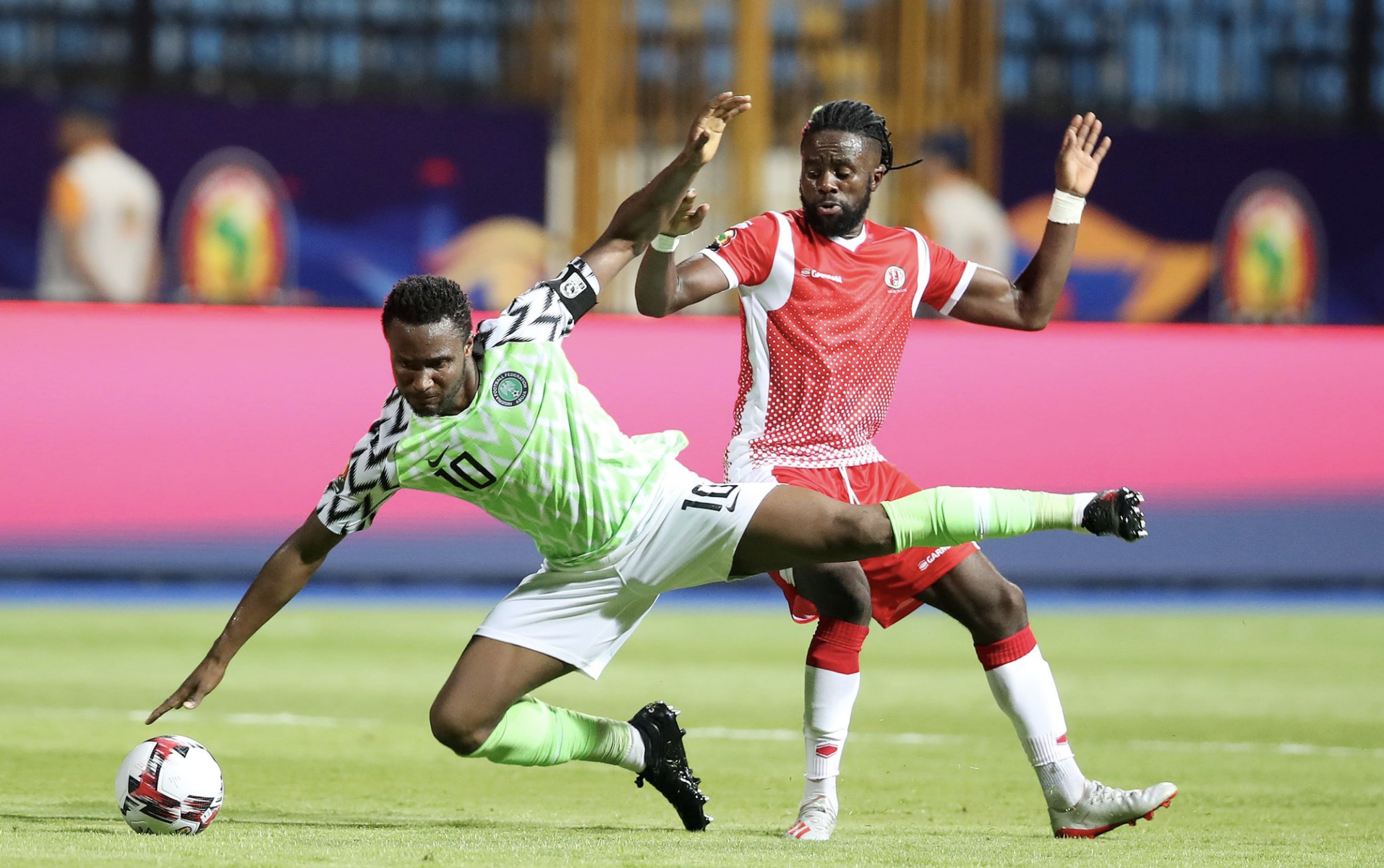 CAN 2019: Le Nigéria sans trop forcer!