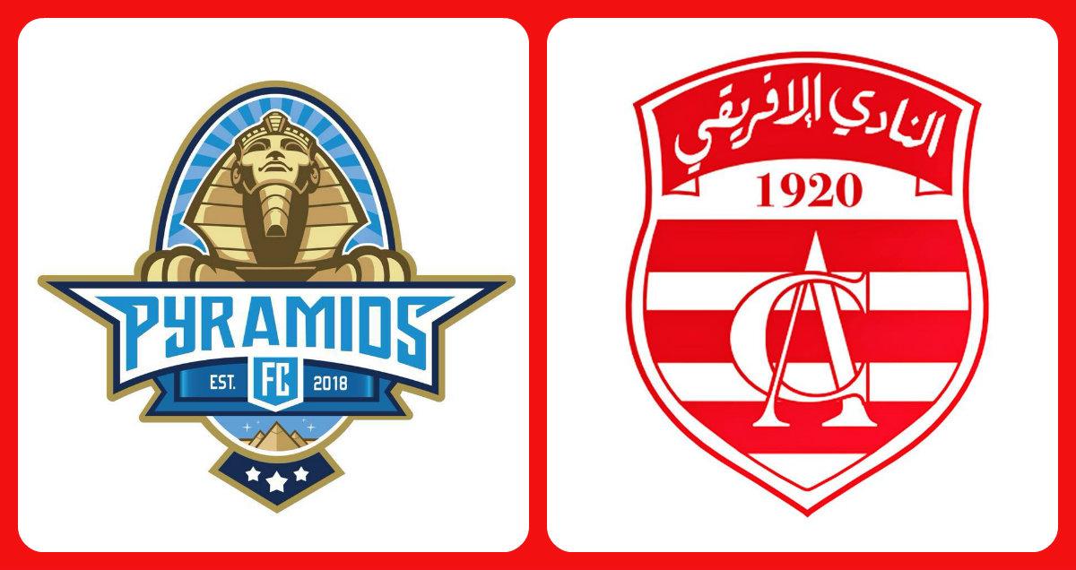 بيراميدز المصري - النادي الإفريقي : تشكيلة الإفريقي و النقل التلفزي للمباراة