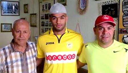 CAB - Rupture des ligaments croisés pour Aymen Derouiche